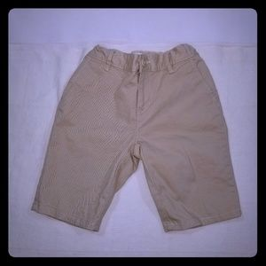Children's place  girls sz 8 khaki shorts NWOT